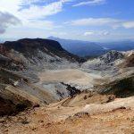 安達太良山でクライミングとハイキング