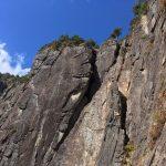 錫杖岳マルチピッチクライミング